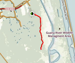 Nocatee Preserve Trail Map