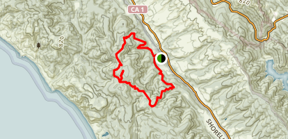 Greenpicker Olema Valley Trail Loop Map