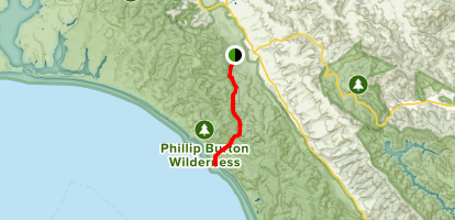 Bear Valley Trail To Coastal Trail Map