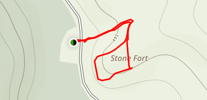 Stone Fort Trail Map