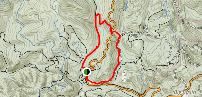Sequoia Trail Map