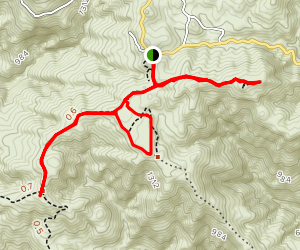 Tuna Canyon Trails Map