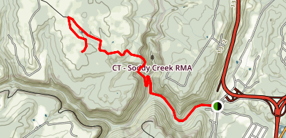 Big Soddy Creek Gulf Trail Map