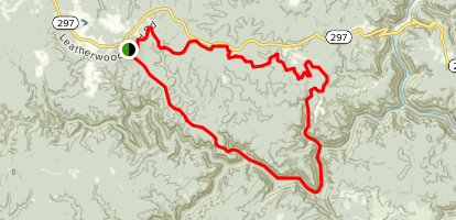 Cumberland Valley Loop Trail  Map