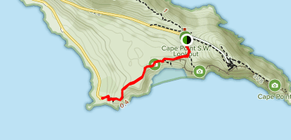 Cape of Good Hope: Cape Point Connector Trail - Western Cape ...