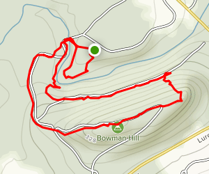 Bowman Hill Map