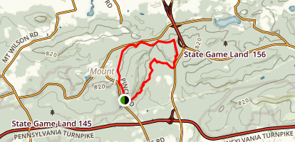 Governor Dick Hill Loop Trail Map