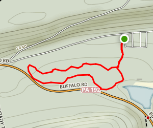 Rapid Run Nature Trail Map