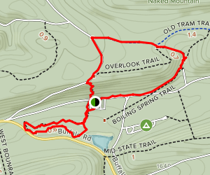 Raymond B. Winter Trails Map