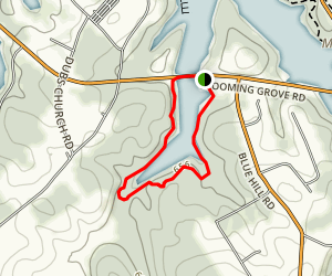La Ho Trail Map