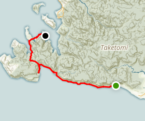 Kanokawa Trail Map