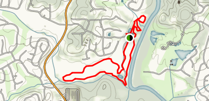Chattahoochee Pointe Trail Map