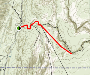 Wire Pass to Buckskin Overlook Map