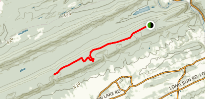 Second Mountain Trail  Map