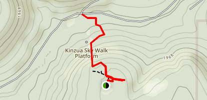 Kinzua Bridge Trail Map