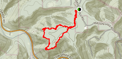 Fred Woods Trail Map