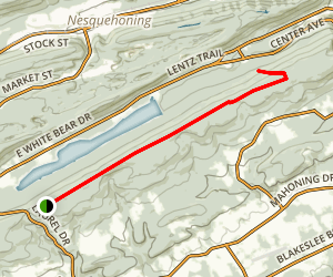 Fire Line Trail to Galen's Surprise  Map