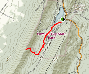 Plessinger Trail to Cameron Trail Map