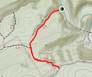 Rider Hollow Trail Map