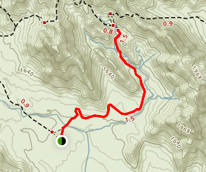 Mountain Wash Map