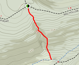 Ruff Gap Trail Map
