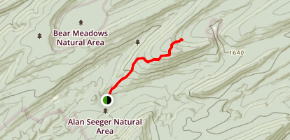 Long Mountain Trail Map