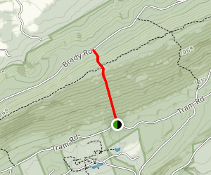 Tussey Trail Map