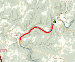 Samuel Justus Trail Map