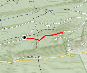 Bake Oven Trail Via Mid State Trail Map