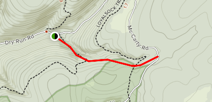 Detters Trail Map