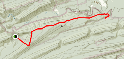 White Mountain Ridge Trail Map