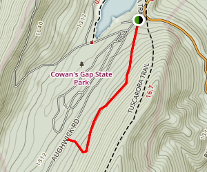 Three Mile Trail Map