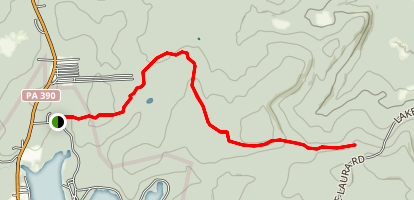 Rock Oak Trail Map