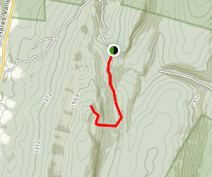 The Throne Room, Standing Stone Trail Map