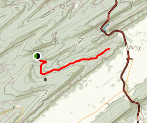 Cooper's Gap Road Trail Map