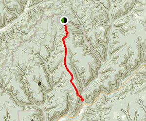 Twin Sisters Trail Map
