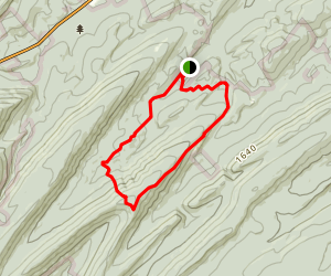 Fowlers Hollow and Couch Trail  Map