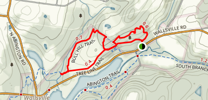 Bull Hill Trail Map