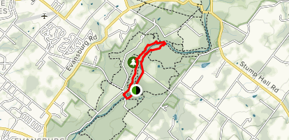 Mill Race Trail Map