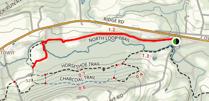 North Loop Trail Map
