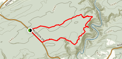 Broad Mountain Map