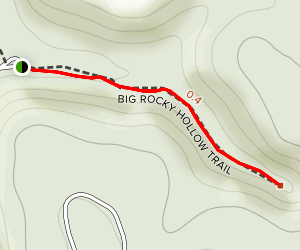 Big Rocky Hollow Trail Map