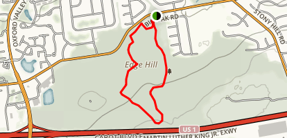 Five Mile Woods Map
