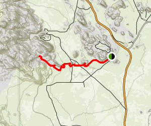 Candlestein Pass Trail Map