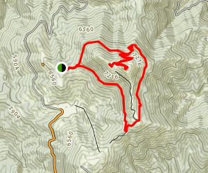 Shafer Butte Loop Map