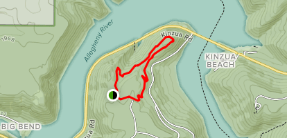 Jakes Rocks Trail Map