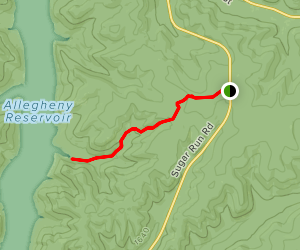 Johnnycake Trail Map