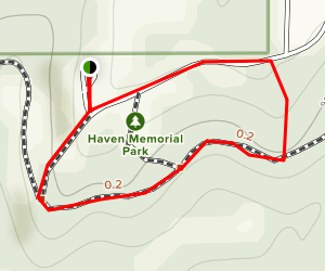 Havens Park (Exterior Trail) Map