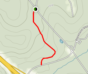 Pleasant Valley Trail Map