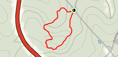 Hill Top Trail - Short Loop Map